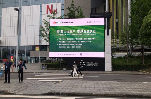 2021(第39届)上海体博会,麦迪人造草坪呈启未来
